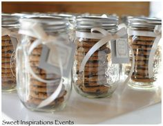 mason jar cookie containers