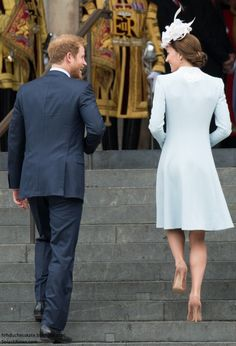 Duchess Kate: Kate in Catherine Walker for National Service of Thanksgiving for the Queen