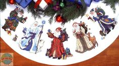 tree skirt cross stitch - Google zoeken