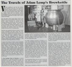Lemp Brewery history.