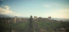 Alhambra de Granada desde el restaurante Estrellas de San Miguel2