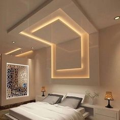 There's really much more to placing up drywall than simply slapping some sheets on the wall and call. Interior Ceiling Design, House Ceiling Design, Ceiling Design Living Room, Bedroom False Ceiling Design, Home Ceiling, Living Room Designs, Plaster Ceiling Design, Simple Bedroom Design, Luxury Bedroom Design