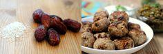 Turkey Meatballs with Dates, Cinnamon-Garlic Lentils and Lemon-Herb Yogurt Sauce
