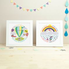 Nursery decor Nursery art Kids room decor kids wall art