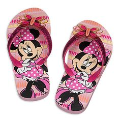 Minnie Mouse Clubhouse Flip Flops for Kids