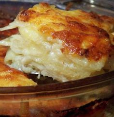 Recipe For  Scrumptous Scalloped Potatoes