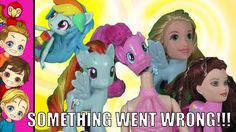 MLP My Little Pony Equestria Girls TRANSFORMATION Goes BAD Parody with ... My Little Pony Collection, Mlp My Little Pony, Rainbow Loom, Equestria Girls, Fun Activities, Princesses, Kids Playing, Disney Characters