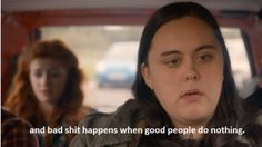 My Mad Fat Diary.  This episode was so emotional.