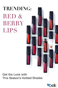 Out with the old, in with the bold! This fall season, try makeup that makes a big impact. Get noticed with the bold lip with lip color from Estee Lauder. Berry, merlot, purple, plum and red are the season's shades we love. Try Estee Lauder's hottest seasonal hues at Belk.