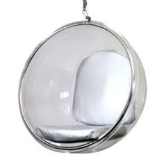 #Retro #Mod #MCM Hanging Ball Chair! Futuristic fun! Perfect for curling up in with a good #eBook!