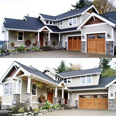 Architectural Designs Craftsman House Plan 6959AM client-built in Washington. 4 beds, 4 baths, over 3,100 square feet of living. Ready when you are. Where do YOU want to build?