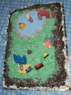 Χειροποίητη τούρτα γενεθλίων απο την Αννέτα.
