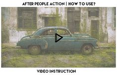 After People Action turns your photo into post apocalyptic picture with lot of greenery, grass and many other elements. Action contains 10 color FX. Save hours of work with this action. Afte...