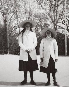"Grand Duchesses Maria and Anastasia Nikolaevna Romanova of Russia. ""AL"""