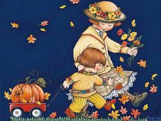 The whimsical artwork of Mary Engelbreit-another favorite artist of mine…