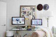 The cozy-chic apartment mixes big ticket items with more affordable   Arielle of…