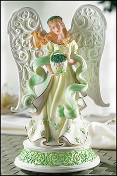 Types Of Angels, Irish Christmas, Angel Guide, Church Music, Garden Angels, Fairy Figurines, Angels Among Us, Angel Statues, Angel Pictures