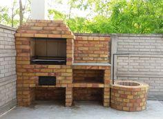 Outdoor Grill Area, Outdoor Kitchen Patio, Outdoor Stove, Outdoor Kitchen Design, Patio Design, Outdoor Decor, Barbecue Ideas Backyard, Outdoor Barbeque, Backyard Pavilion