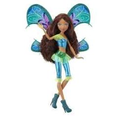 Princess Aisha (or Layla) is one of the magical members of the Winx Club.  She is an important and loved member of this fairy group and your daughter would love this doll as a birthday or Christmas present.  Another Winx Club character girls will love to find under the Christmas tree.