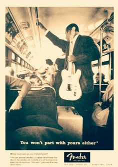 Old Fender Ad. Saved from offsetguitars.com
