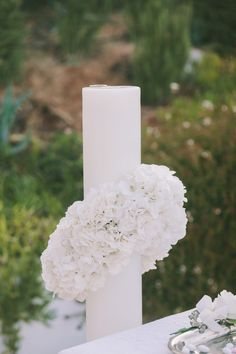 Wedding in Greece - Wedding Candles http://florisspecialevents.com/