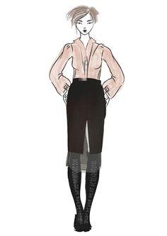 Midi black skirt with veil insertion Roman Holiday, Veil, Skirts, Collection, Vintage, Black, Black People, Veils, Skirt