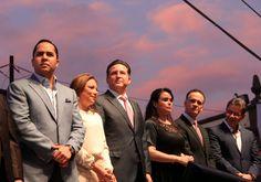 NOTILIBRE TIJUANA, por la libertad de informar.: INAUGURA JORGE ASTIAZARÁN PANTALLA TIJUANA EN EL A...