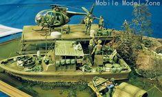 Vietnam diorama