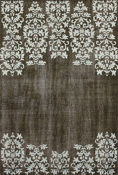 It is a Jasmine Rug however, thought the white would be a great idea over a kitchen blackboard wall