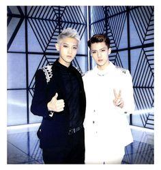 Sehun and Tao