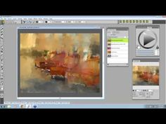 Easy Clone painting in Corel Painter 12 with Marilyn Sholin