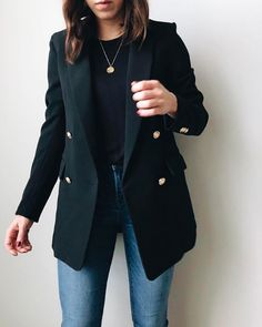 H M Outfits, Blazer Outfits Casual, Outfits For Teens, Fall Outfits, Fashion Outfits, Formal Outfit For Teens, Fashion Weeks, Summer Outfits, Work Fashion