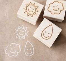 Flower Garden Stamp Set of 6 hand carved rubber stamps France postage stamp nice weather - wooden rubber stamp set Diy Stamps, Colegio Ideas, Deco Kids, Stamp Carving, Stamp Printing, Diy Painting, Outdoor Painting, Tampons, Scrapbooking