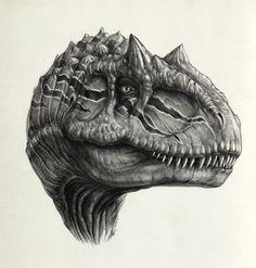 Allosaurus by *AntarcticSpring @ deviantART http://antarcticspring.deviantart.com/