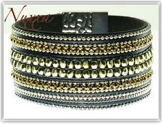Bracelet BR0274_Night Cuff by NUXXA on Etsy