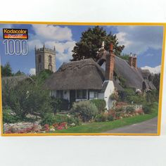 Kodacolor 1000 Pc Jigsaw Puzzle Welford on Avon Village Warwickshire England New #Kodacolor