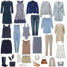 Summer Capsule Wardrobe in the UK! Great for packing tips!