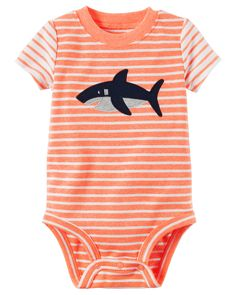 Baby Boy Shark Neon Bodysuit from Carters.com. Shop clothing & accessories from a trusted name in kids, toddlers, and baby clothes.
