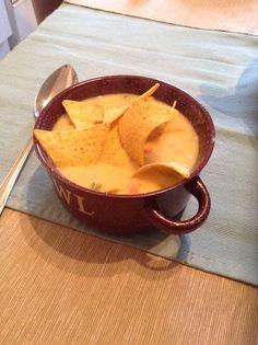 Mexikói sörös sajtleves.