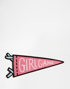 Image 2 ofOhh Deer Girl Gang Iron On Patch
