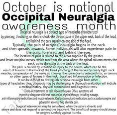 Neurological Disorder, Occipital Neuralgia, Neck Pain, Chronic Pain, Disorders, Sore Neck, Fibromyalgia