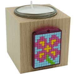 Pixel Starter Set mit Allem was du brauchst um eigene Motive zu pixeln Starter Set, Anastasia, Tea Lights, Candle Holders, Candles, Lockets, Embellishments, Laser Engraving, Hobbies