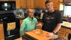 In the Daddy Daughter Kitchen, we love the taste of garlic -- fresh or roasted. Here, we share our Garlic Tips and Chips. How To Peel Garlic, Daddy Daughter, Cooking Videos, Chips, Polo Ralph Lauren, Couple, Fresh, Kitchen, Mens Tops