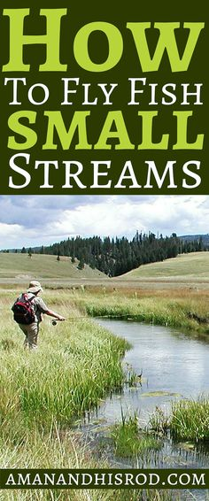 This in-depth article about #fly #fishing small #streams for #trout I talk about species, diet, habitat, watersheds, and the #tips and #tactics I use to catch fish. You will also find #ultralight fishing gear recommendations.