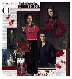 """""""The Vampire Diaries Stars ♥"""" by dora04 ❤ liked on Polyvore featuring John Lewis, LnA, River Island, Giuseppe Zanotti and Innue"""
