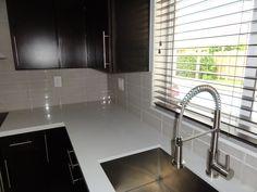 4 x 12 glass tile backsplash