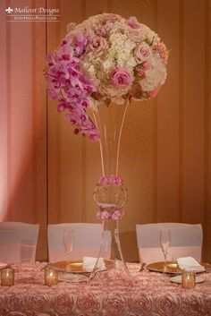 Beautiful indian fusion wedding in austin tx planner the luxury tall centerpiece arrangement beautiful indian fusion wedding in austin tx planner the malvernweather Image collections