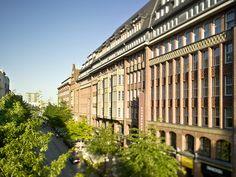 Levantehaus Hamburg, Einkaufszentrum / Einkaufspassage in Hamburgs Innenstadt
