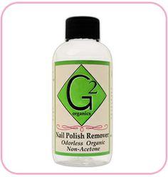 FINALLY an odorless nail polish remover !