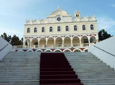 Panayia Evanyelistria Cathedral and Museums, Tinos - Tripadvisor Lovely Travels, Christian Church, Place Of Worship, Greek Islands, Mykonos, Homeland, Trip Advisor, Traveling By Yourself, Cathedral